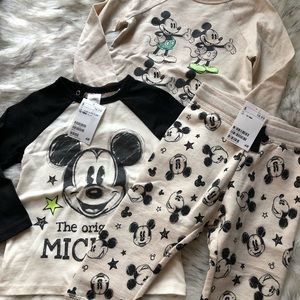 H&M baby/toddler boys Mickey Mouse outfit 12-18 M